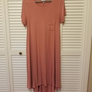 Used small Lularoe Carly swing dress